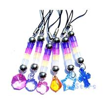 Random Color New UV Strength Test mobile phone chain Change Color Depends On The UV Light 1Pcs