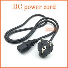 NEW 1.2m EU / Europe 3Pin Power Cord Cable EU 3Prong Laptop AC Adapter Lead 3Pin cable