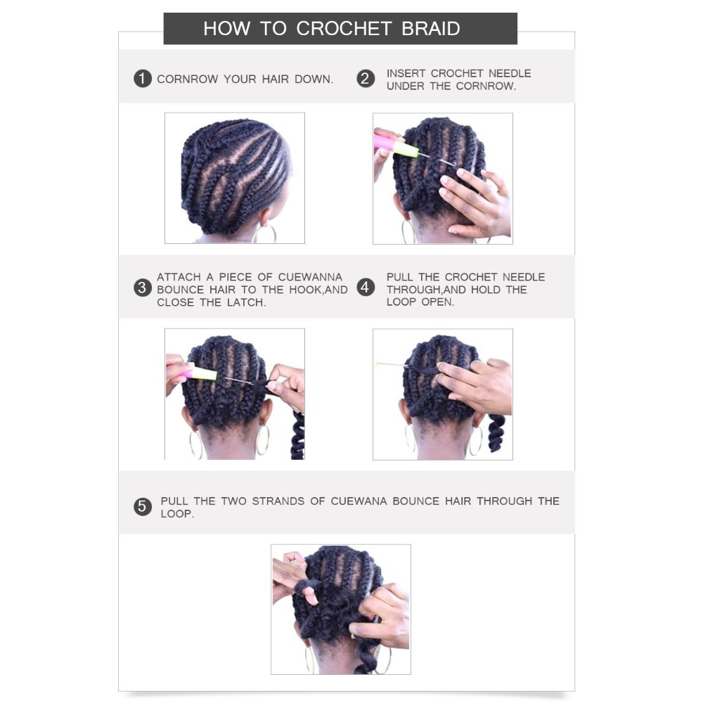 HOW TO CROCHET BRAID