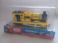 new YELLOW Rheneas Electric Thomas and friend Trackmaster engine Motorized train Chinldren child kids plastic toys gift red