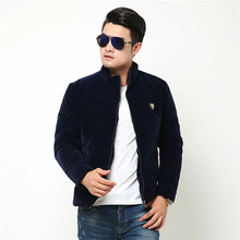Thick Mens Long Sleeve Jackets 2017 Winter New Fashion Business Male Cotton Coat H Best Cool Clothing Comfort Big Size S-5XL(China)