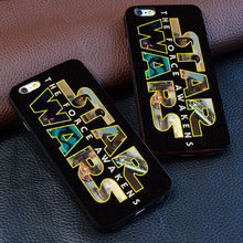 Star Wars personality logo design For iphone 4 4s 5s 6 6s 7 plus for Samsung s3 s4 s5 s6 s7 Edge luxury Hard plastic phone case