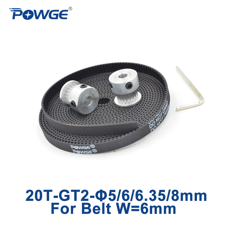 2 шт. шкив ГРМ GT2 на 20 зубьев 5 мм 6 35 8 + 3 метра|timing pulley|timing beltgt2 timing pulley |