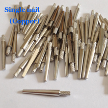 1000 PCS Dental Lab Supplies,Copper Single Nails Pins,4 models(22/20/18/16mm) can be selected, Good Quality