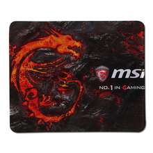 250*300*2MM MSI Wallpaper Large Mousepad Locked Edge Rubber Pad to Mouse Notebook Computer Mousemat Gaming Keyboard Mice Mats(China)