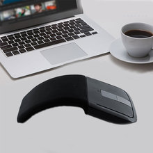 Computer Peripherals Accessories 2.4GHz Arc Touch Wireless USB Receiver Mouse Slim Foldable Optical Flat Microsoft Touch Mouse(China)