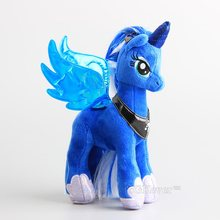 "High Quality Princess Luna Soft Stuffed Dolls Cute Luna Horses Plush Toy Children Gift 9"" 23 CM"