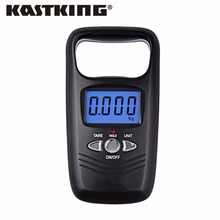 KastKing Brand 2017 New Portable Hanging Digital Weight Scale 50kg 5g Mini Digital Electronic Pocket Scale with 4 Weight Units(China)