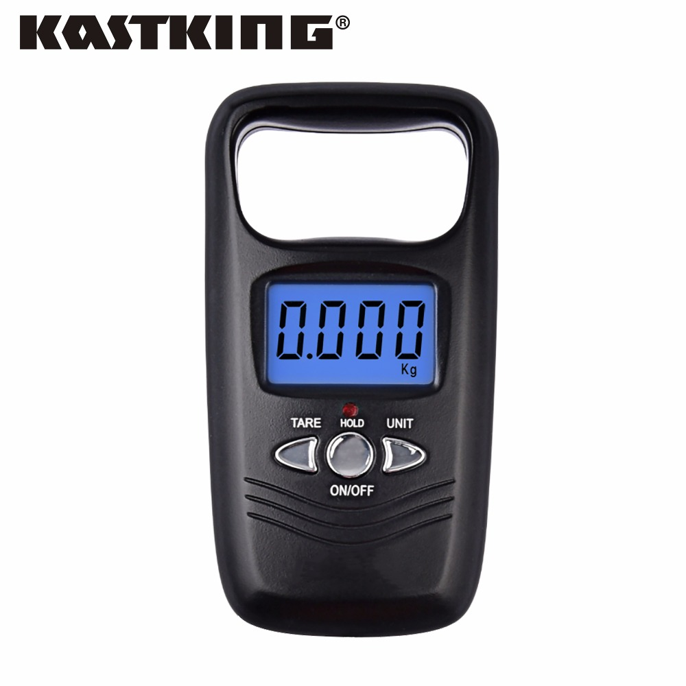 KastKing Brand 2017 New Portable Hanging Digital Weight Scale 50kg 5g Mini Digital Electronic Pocket Scale with 4 Weight Units(China (Mainland))