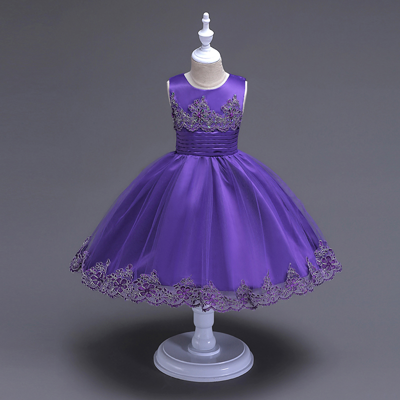 Girls Summer Dress Princess Dresses Children Rapunzel Kids Gown Flower Girl Wedding Party Dress Costume For Kids Girl Robe Fille<br>