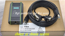 High quality USB-MPI + S7-200/300/400 PLC DP/MPI for Siemens / 6ES7972-0CB20-0XA0 programming cable WIN7 WIN8 with CD