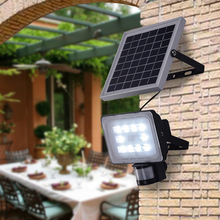 Kaigelin LED Solar Flood Light 20W Outdoor Lighting With PIR Motion Sensor SMD 5730 DC12V 24V 6000K-6500K LED Lamp Floodlights
