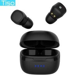 Tiso i5 Bluetooth 5,0 наушники 3D TWS true беспроводные стерео наушники IPX5 водонепроницаемая Спортивная гарнитура с двойным микрофоном