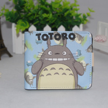 Fashion Anime Women Men Totoro Cosplay Short Wallets Billfold Cartoon Card Holder Purse for Students Free Shipping