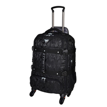 Oversized capacity, backpack, Trolley ,26 inch Business Travel Suitcase, Aviation abroad Checked bag,Rolling Luggage