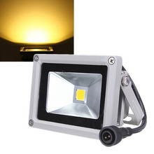 10w Outdoor Lamp Solar Energy Projecting Light Warm Light Projection Light LED Flat Panel Flood Light