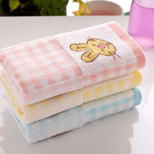 Cartoon Bunny Microfiber Hand Rectangle Towel Rabbit Superfine Fiber Bath Towel Printed Quick Dry Hair Face Towel 25 * 50cm(China)