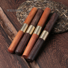 WIZAMONY High Quality 1PCS Stainless Steel Puer Tea knife set tools needle tea cone puerh cake sandalwood tea knife puer Tools(China)