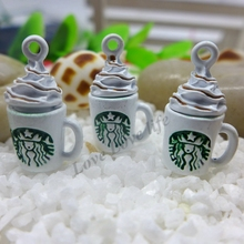 23*13mm  Metal alloy coffee cup charm, Bracelet Jewelry DIY Charms jual charms murah Free Shipping! hj010