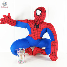 BOLAFYNIA Children Stuffed Toy kids doll plush baby toys cartoon spiderman Heroes Manufacturers wholesale birthday gift(China)