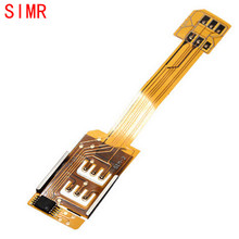 SIMR Top Sale Phone Adapter Practical Dual SIM Card Adapter Duo SIM Converter 4G for Samsung Galaxy S3 S4 S5 Note 2 3 4
