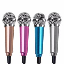 Portable Mini 3.5mm Stereo Studio Speech Mic Audio Microphone For Phone/Smart Phone Desktop Accessories