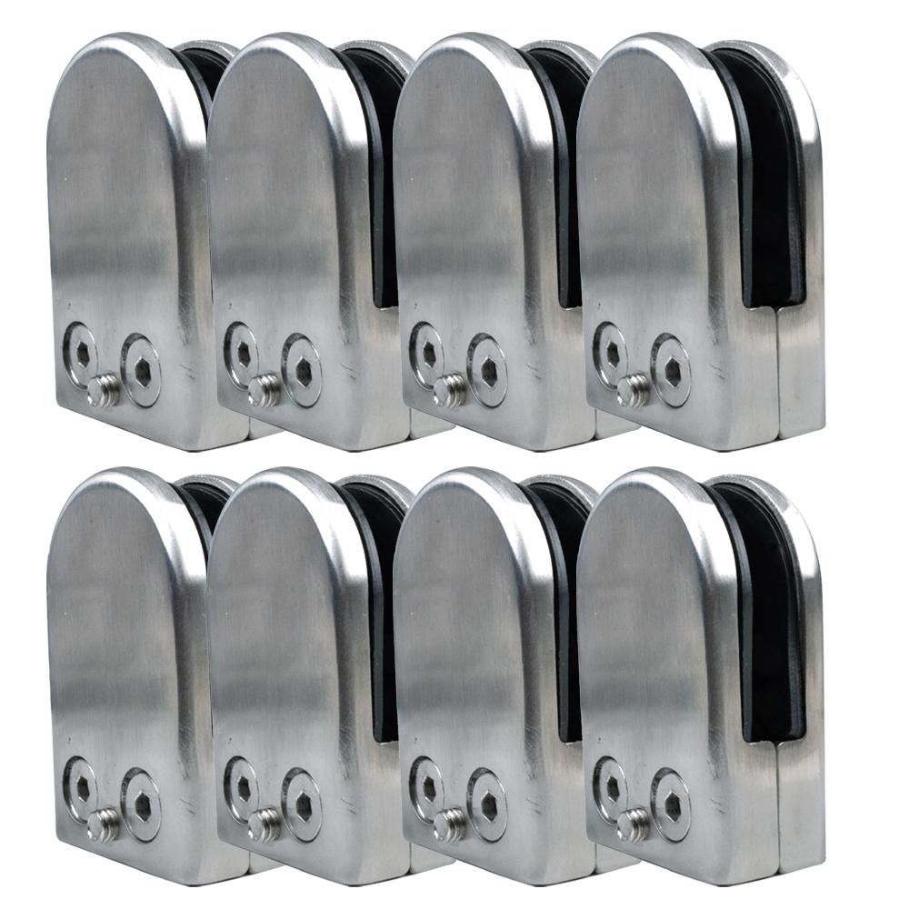 EWS 8X Stainless Steel Glass Clamp Holder For Window Balustrade Handrail 65*43*26 mm Best Selling<br><br>Aliexpress