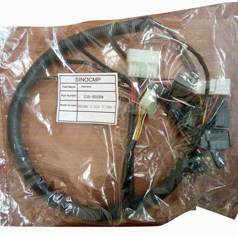 530-00209 DH-7 Daewoo switch box wiring harness