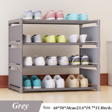New Shoes Rack Four Floors Receive Shoe Ark 50 Cm High Men's and Women's Dormitory Bed Bottom Bed Shoes Shelf(China)