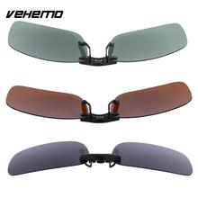 Vehemo Replacement Polarized Lenses Mirror Flip Sunglasses UV400 Glasses Driving