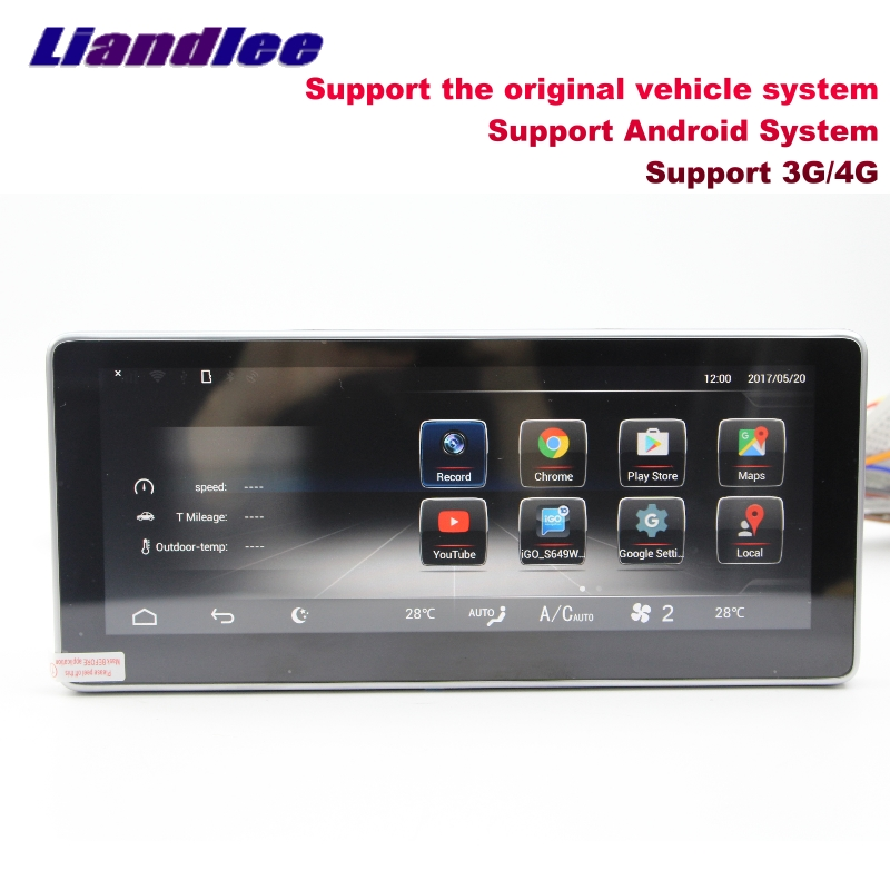 Liandlee Car Multimedia Player NAVI For Mercedes-Benz MB GLA Class 2014~2018 Original car style Radio Stereo GPS Navigation 3