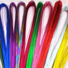 50pcs/lot 22# Mix Colors Iron Wire For Nylon Stocking Flower DIY Handmade Artificial Flower Material(China)