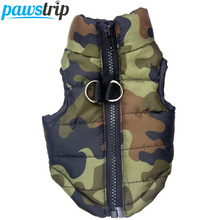 Waterproof Dog Coat Winter Puppy Clothes Camo Pattern Small Dog Jacket Chihuahua Yorkie Clothing(China)