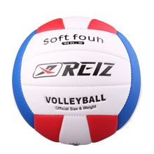 Official Size 5 PU Volleyball High Quality Match Volleyball Indoor&Outdoor Training ball With Net Bag V601A