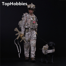 Estartek Mini Times Toys 1/6 M006 US Navy Seals Six HALO+Dog Collection 12 Inch Action Figure New Box(China)