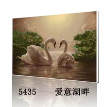 Oil Painting Frameless Picture Painting By Numbers animal DIY Digital Canvas Oil Painting Goose Home Decor
