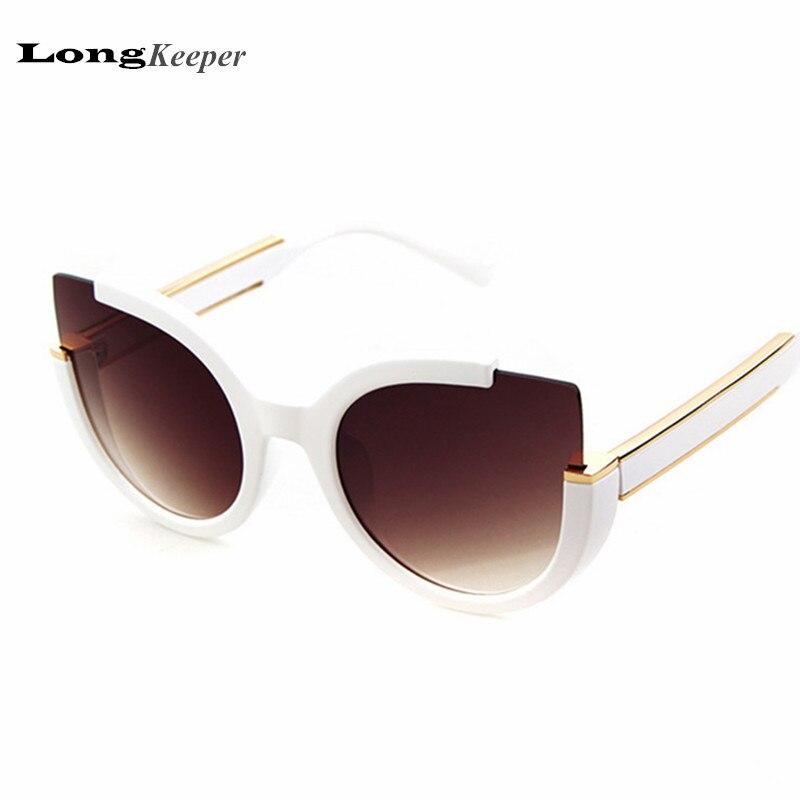 Fashion Novelty Sunglasses Cat Eye Sunglasses Star Style Retro Sunglasses for Women Vintage Sun Glasses 2017 New Designer LKP18<br><br>Aliexpress