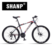 "SHANP Mountain Bike Aluminum Frame 27 Speed Shimano Hydraulic/Mechanical Brake 26"" Wheel(China)"