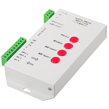 C23 T-1000S LED Pixel Controller for LPD6803 WS2801 WS2811 RGB Full Color DC5V-24V with SD Card.