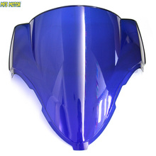 Motorcycle Part Blue Windshield/Windscreen For Suzuki Hayabusa GSXR 1300 1996 2007 96 97 98 99 00 01 02 03 04 05 06 07(China)