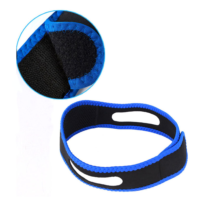 Anti Snore Solution 3 Pack Adjustable Stop Snoring Chin Strap, Anti-Snore Sleep Aid, Snores Stopper Nose Vents Device