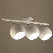 Modern fashion creative arts led ceiling lamp 3 heads track LED Ceiling Light(China)