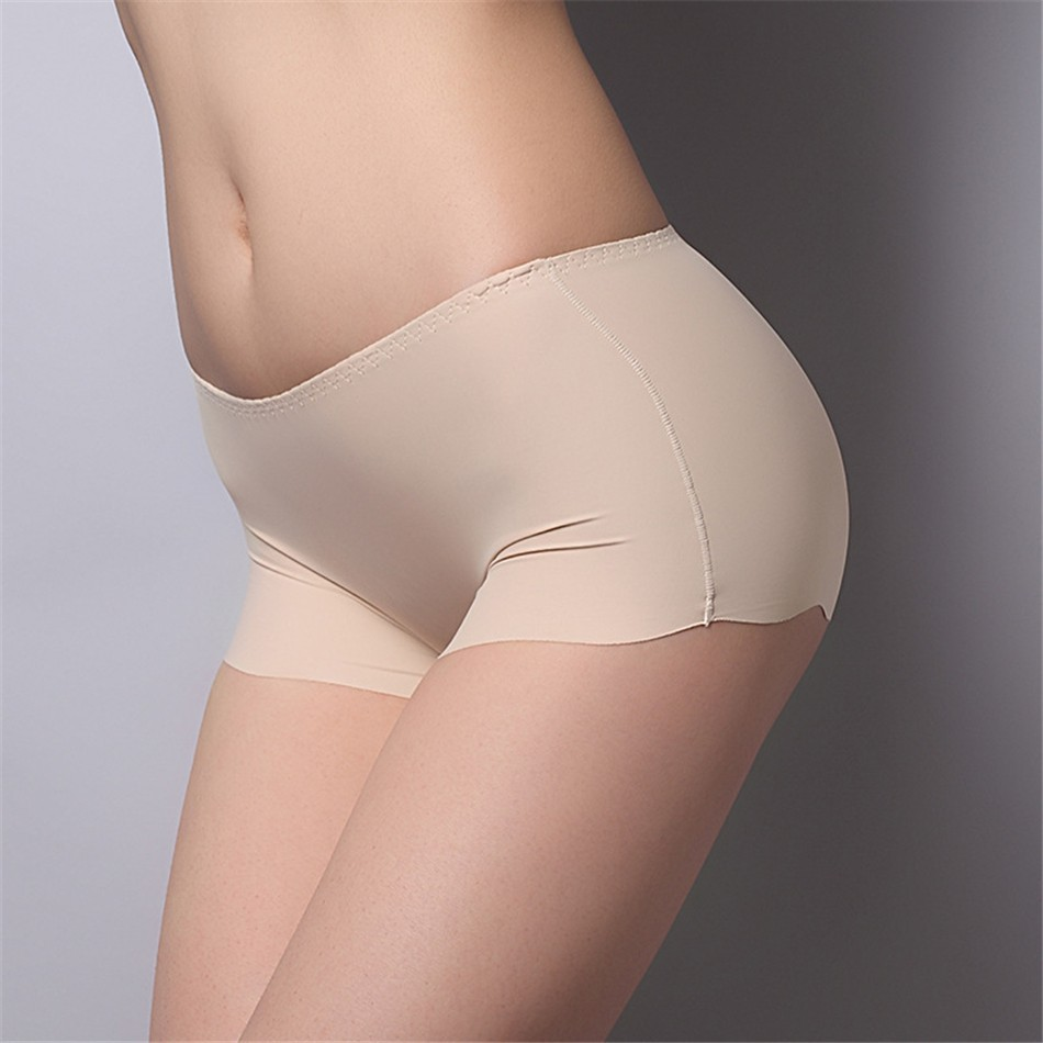 2017 New Arrival Girls Safety Pants Ice Silk Seamless Underpants Women Safety Shorts Plus Size Underwear Panties 14