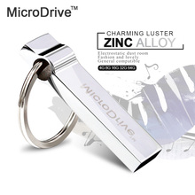 microdrive metal usb flash drive 4gb 8gb pendrive 16gb flash drives 32gb usb memory stick 64gb usb flash drive with key chain