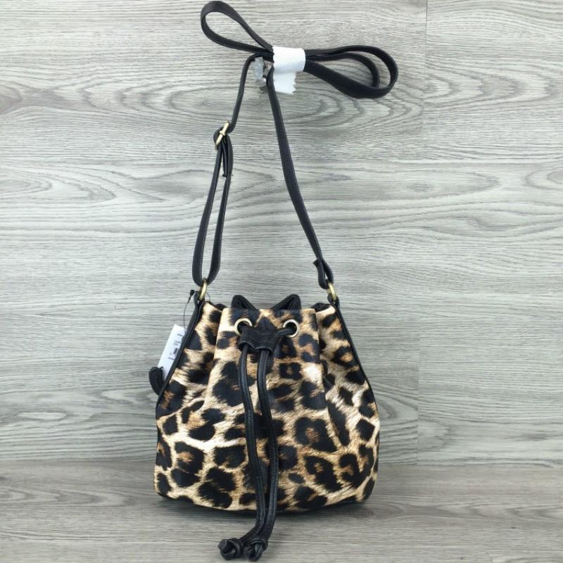 Vintage Women PU Crossbody Bags Small Leopard Printing Messenger Bags Girls Designer Shoulder Bags Bolsas Femininas bucket bag<br><br>Aliexpress