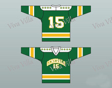 Hockey Jersey 1960's Style EHL Greensboro Generals 15 Throwback Hockey Jersey Stitched Custom Any Name Any Number S-6XL(China)