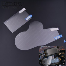 DS-BM003 Moto Tachometer Lens Instrument prot Sticker Speedometer Film Screen Protector Stickers For BMW R1200GS/ADV(China)