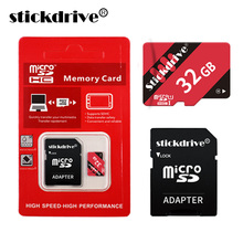 2017 WholeSale Price STICKDRIVE Memory Card Real Capacity Micro SD Card 64GB 32GB 16GB 8GB Microsd Micro SD Card Class 10(China)
