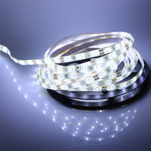 Hot Sale SMD 2835 / 3528 DC12V 60Leds/m 1m 5m Flexible led strip High brightness RGB Ribbon Stripe String LED Tape Indoor light(China)