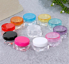 10PCS Cosmetic Glitter Empty Jar Eyeshadow Container Face Cream Hot New Makeup